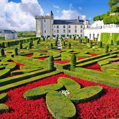 kasteel van Villandry, Loire-vallei, Frankrijk