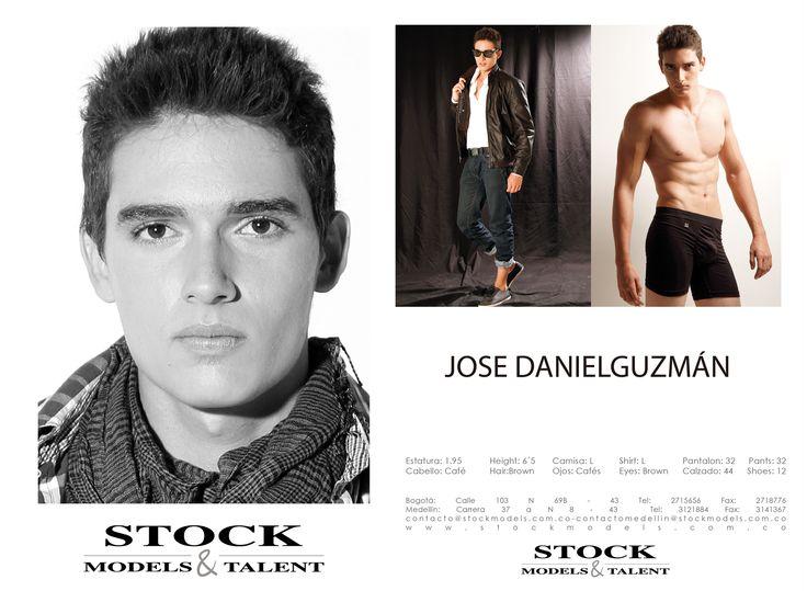 José Danieñ Guzmán - Modelo Stock Models -