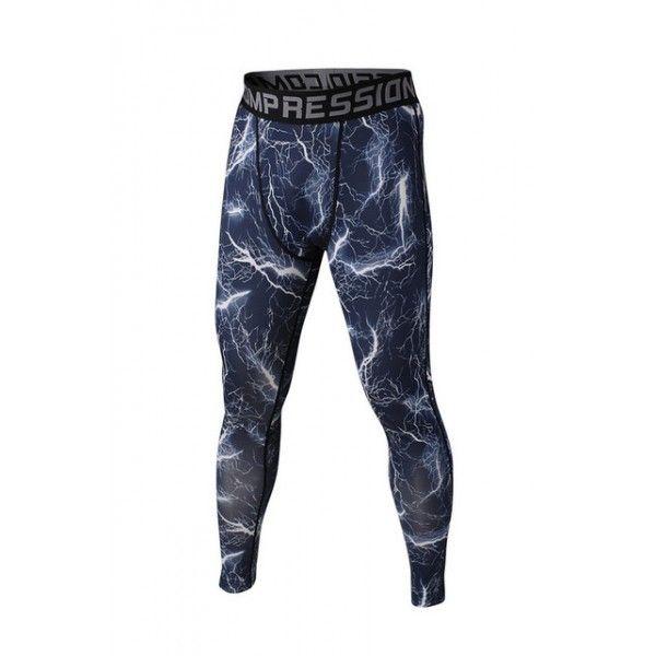 Black Lightning Men's Leggings Compression Tights Workout Bodybuilding Fitness 38.99 + FREE Shipping Worldwide http://www.letileggings.com/black-lightning-meggings #meggings #mensleggings #compressiontights #letileggings @letileggings