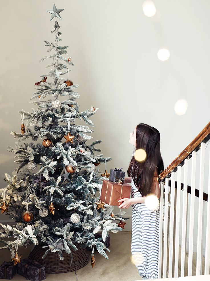 Fabulous Frosted Fir Tree  |  Cox & Cox