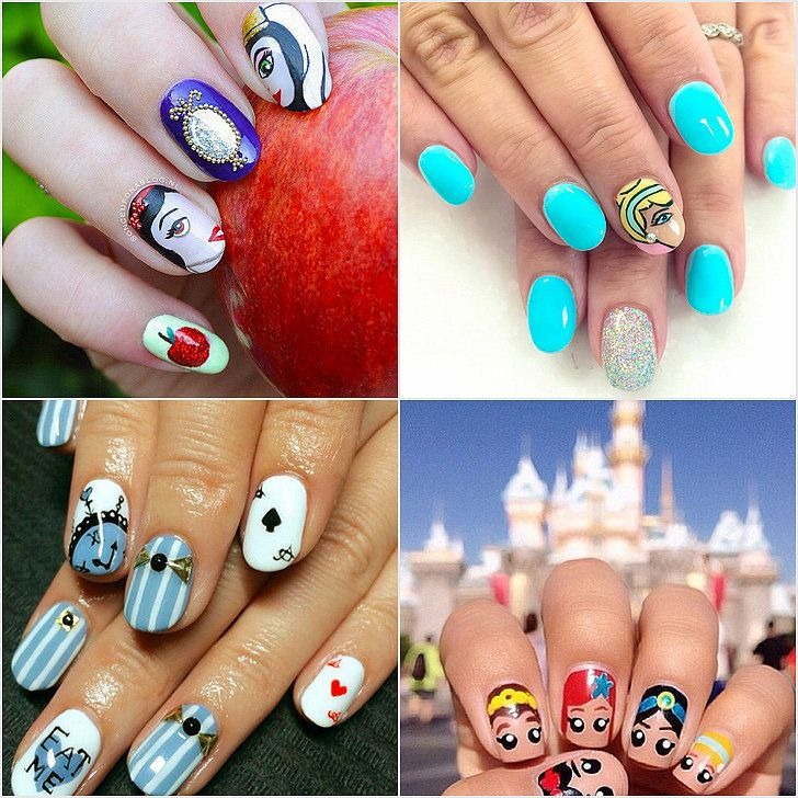 These Disney Nail Art Ideas Will Inspire Your Next Magical Manicure! Check them out: http://www.popsugar.com/beauty/Disney-Nail-Art-Ideas-38769279?utm_content=buffer64b3d&utm_medium=social&utm_source=pinterest.com&utm_campaign=buffer#photo-38769279