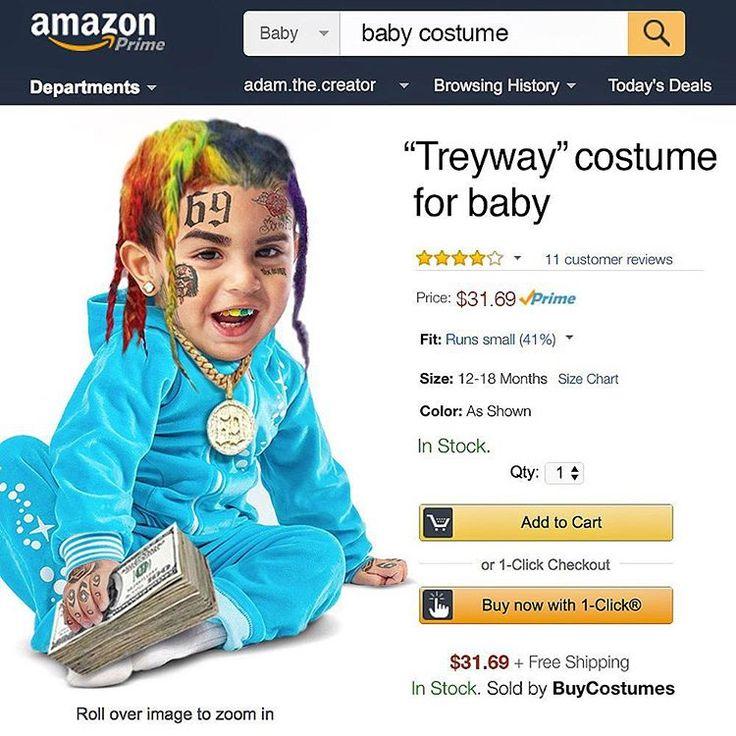 6ix9ine Costume: 6ix9ine Made A Costume For Babies