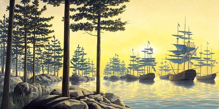 Master of Illusion – Les peintures surréalistes de Robert Gonsalves (image)