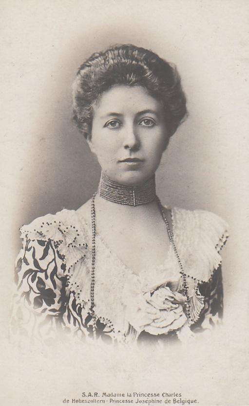 Princess Josephine Caroline of Hohenzollern, nee Princess of Belgium.