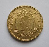 2,5 песеты = 1953 / 1956 / г. = Испания