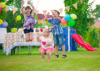 Kindergeburtstagsspiele für draußen - Kinderspiele-Welt.de
