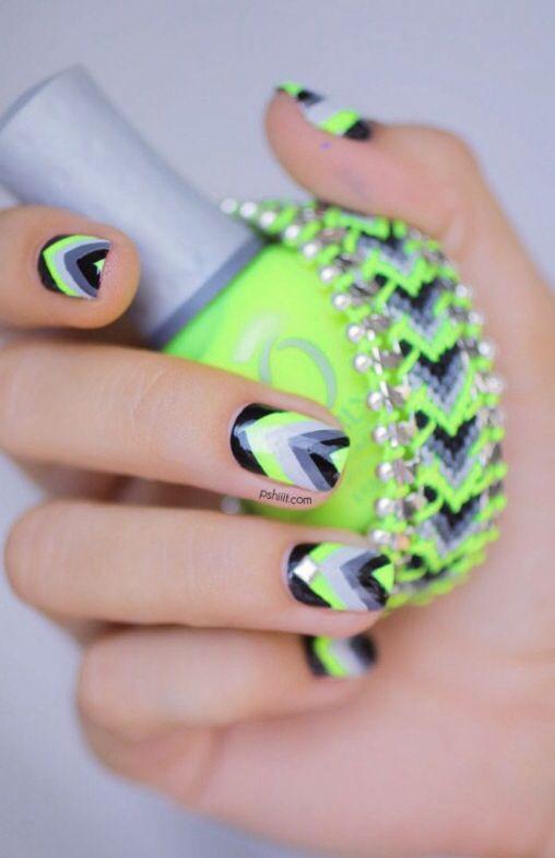24 mejores imágenes de nails en Pinterest   Alondra, Arte de uñas de ...