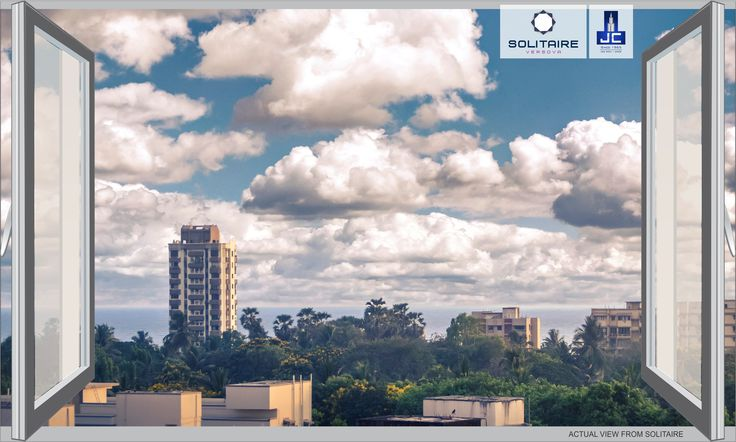 The voice of the breeze speaks to the soul and​ #ViewFromMyWindow​ of a patterned sky​ at #Solitaire by #JayceeHomes at #Versova gives ​the pleasure of seeing the utmost beauty of nature​. #Solitaire #JayceeHomes #Friday #Morning #Sky #ViewFromMyWindow #Calm #Pleasure #FollowForFollow #Jaycee #JayceeLifeStyle #Green #Cloud