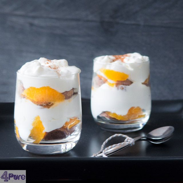 Gingerbread tangerine tiramisu - english recipe - Desserts should and are an essential part of a Sunday dinner at houseand because of winter season I put this delicious dessert on the table.I just love tiramisu.