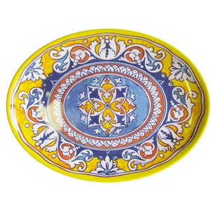 "Valencia 16"" Oval Platter now featured on Fab."
