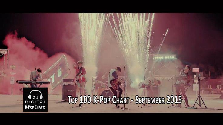 Top 100 K-Pop Chart - September 2015 (Month End Chart)