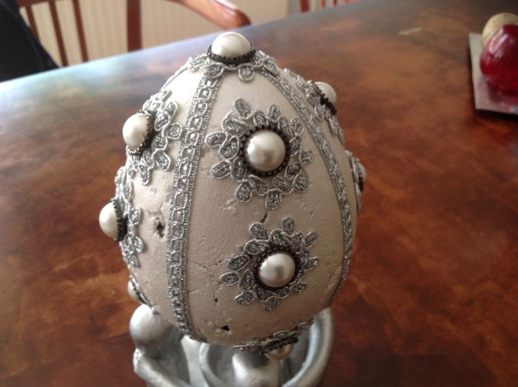 My very own #diy #faberge egg! Gorgeous, isn't it?