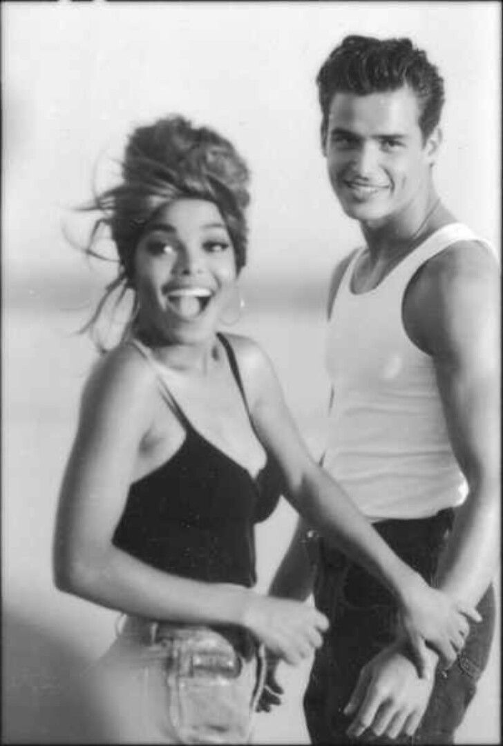janet jackson, love will never do by herb ritts. ps- whatever happened to antonio sabato jr?