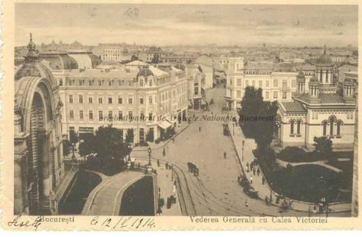 BU-F-01073-5-01130-1 Calea Victoriei din Bucureşti, -1914 (niv.Document)