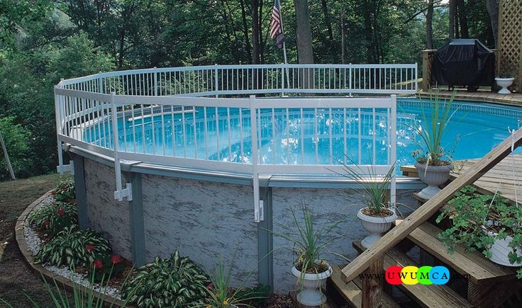 Best 25 pool with deck ideas on pinterest deck ideas for Above ground pool decks tampa