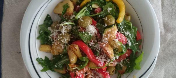 Recept: mediterrane salade met aardappel en chorizo van #overkruiden