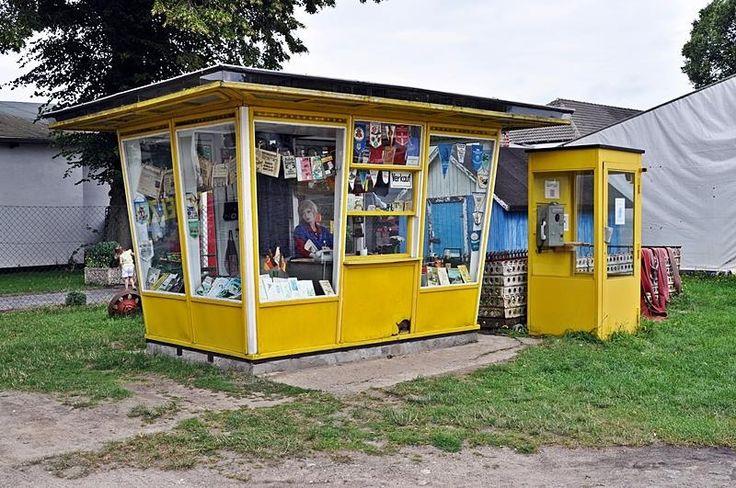 Zeitungs-Kiosk Mein Opa hat auf dem Zeltplatz dort immer seine Zeitung und seine Post erhalten.