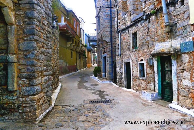 """Το χωριουδάκι μου!!! """"Ολύμποι"""" Το παλαιότερο Μεσαιωνικό χωριό της Μυροβόλου.- (ΧΙΟΣ)"""