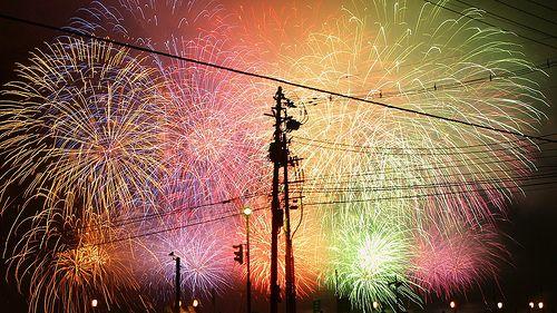 長岡まつり大花火大会 Fireworks in Nagaoka Festival