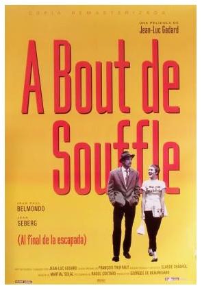 A bout de souffle. Jean Luc Godard