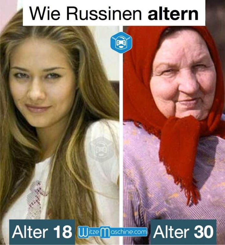 Wie russische Frauen altern - Russenwitze - Funny Russian