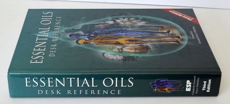 SOLD! Essential Oils Desk Reference 3rd Edition 1st Printing Hardcover #WorkbookStudyGuide