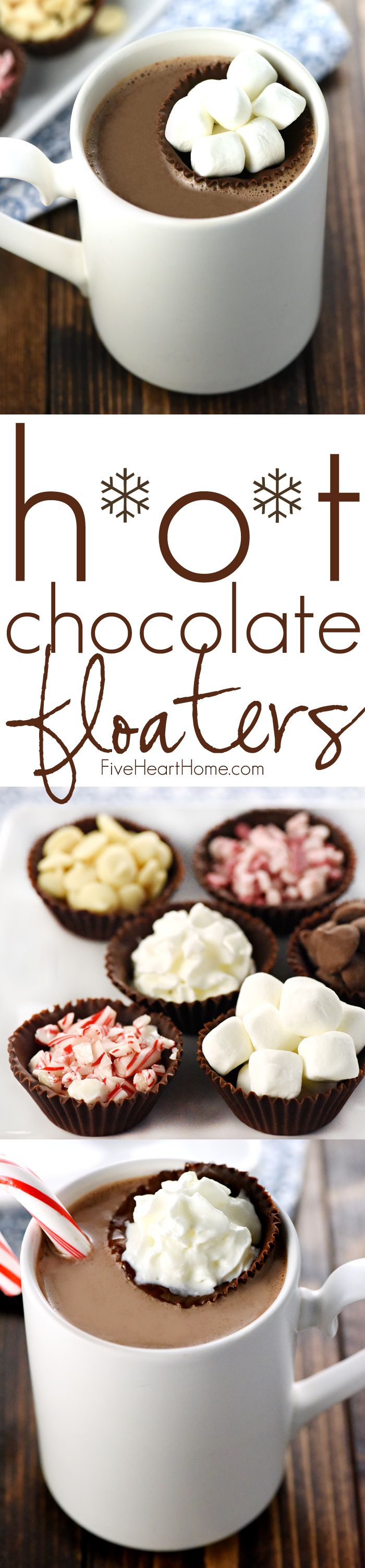 Hot Chocolate Floaters Little Cups Of Chocolate Make Fun And Tasty Receptacles For Marshmallows