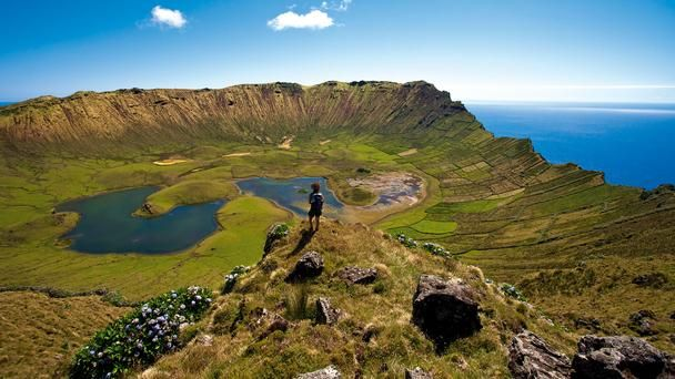 Landscapes of Corvo Azores... http://www.euroadventures.net/portugal/family-trips/azores-islands-tour.html
