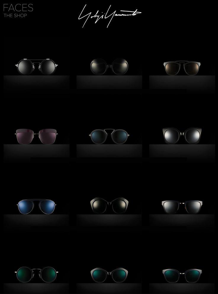 Yohji Yamamoto avant garde eyewear & sunglasses ♥SALE♥. Enjoy 25% off today only with Pinterest only code: FYYPIN