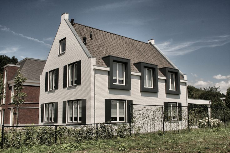 359 best huizen images on pinterest barn houses house exteriors and house architecture - Moderne huizen ...