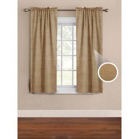 Mainstays Solid Thermal Embossed Woven Single Panel - Walmart.com