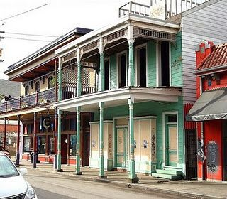 Frenchman Street in the Marigny.  This is where you go to hear the real music of New Orleans. We'll be across the street from this!