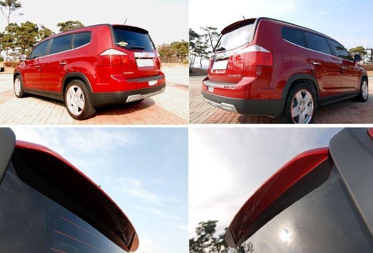 [ONZIGOO] Rear Lip Spoiler PAINTED For Chevrolet Orlando 2011 2012 #ONZIGOO