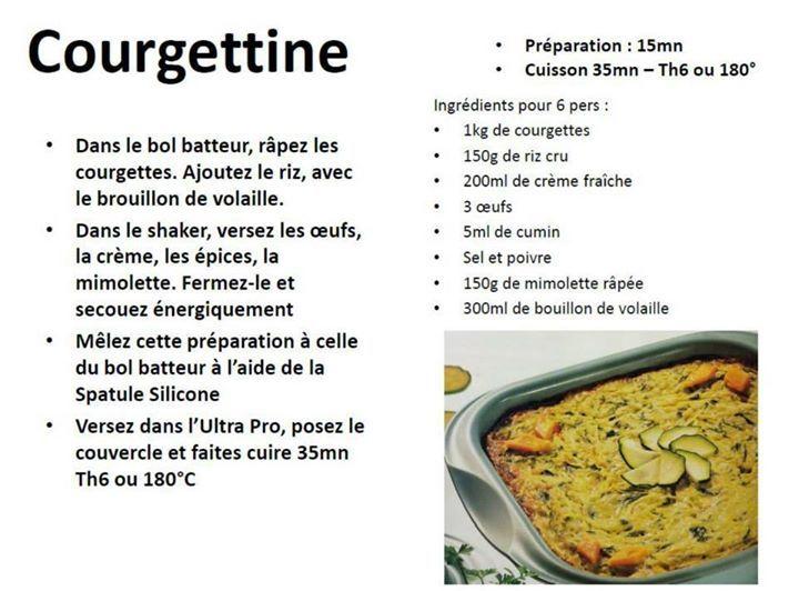 Courgettine - Tupperware