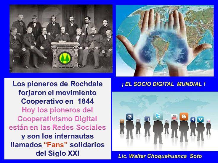 """ÑOS PIONEROS DE ROCHDALE FUNDARON EN 1844 LA PRIMERA COOPERATIVA EN EUROPA, HOY EN EL SIGLO XXI LOS COOPERATIVISTAS DE LAS REDES SOCIALES SON LOS LLAMADOS SOCIOS DIGITALES Y SOLO TIENEN QUE HACER """" ME GUSTA"""" PARA INCORPORARSE A ESTE MOVIMIENTO SOCIAL HUMANO Y CRISTIANO"""