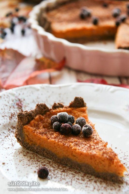 Gluténmentes sütőtökpite recept - hozzáadott cukor nélkül