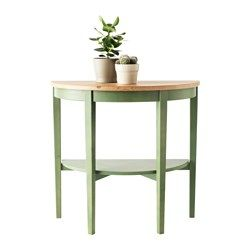 ARKELSTORP Table demi-lune, blanc - 80x40x75 cm - IKEA