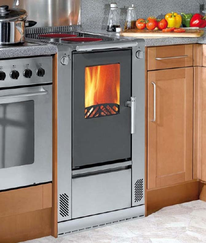 Eco friendly central heating boiler