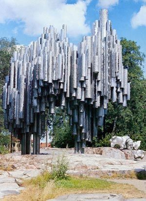 The #Sibelius Monument in #Helsinki, #Finland