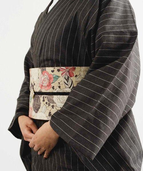 ピンストライプ着物-FUDGE*KIMONO MODERN(着物/浴衣)|KIMONO MO…