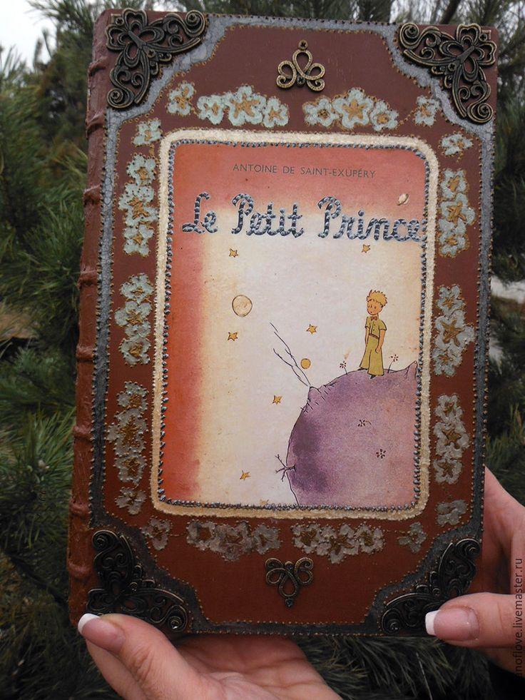 Купить Клатч в виде книги Le PETIT PRINCE - коричневый, клат-книга