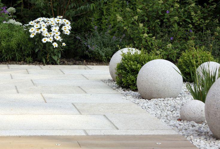 sculptural granite balls