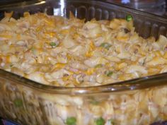 Easy Tuna Noddle casserole. Need to make! Good for work week lunches or for church casserole dinner.