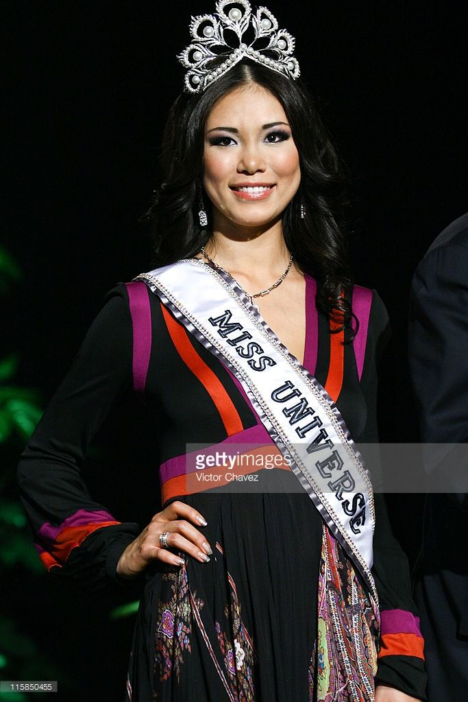 Japan's Riyo Mori, winner of the Miss Universe 2007 pageant