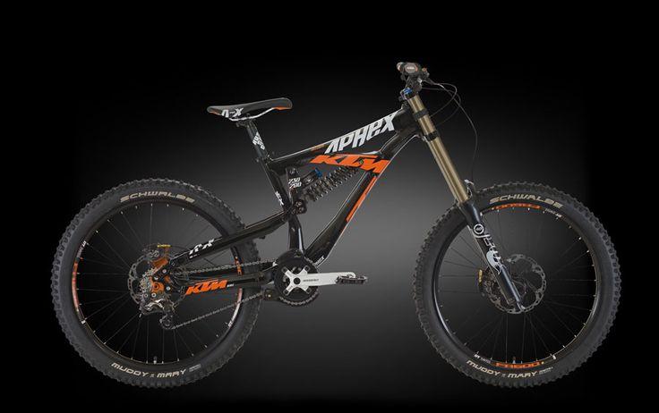 ktm aphex downhill bikes pinterest see best ideas. Black Bedroom Furniture Sets. Home Design Ideas