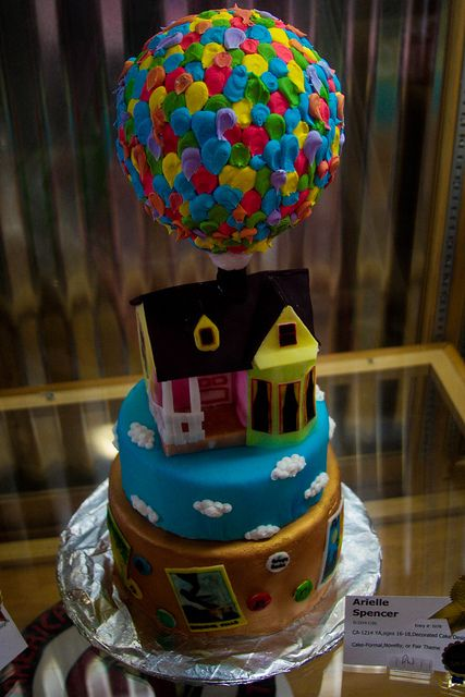 Disney Up! cake :)Cake Up Disney, Cake Blog, Baking Ideas, Awesome Cake, Disney Cake, Birthday Cake, Disney Up, Up Cake, Disneycake