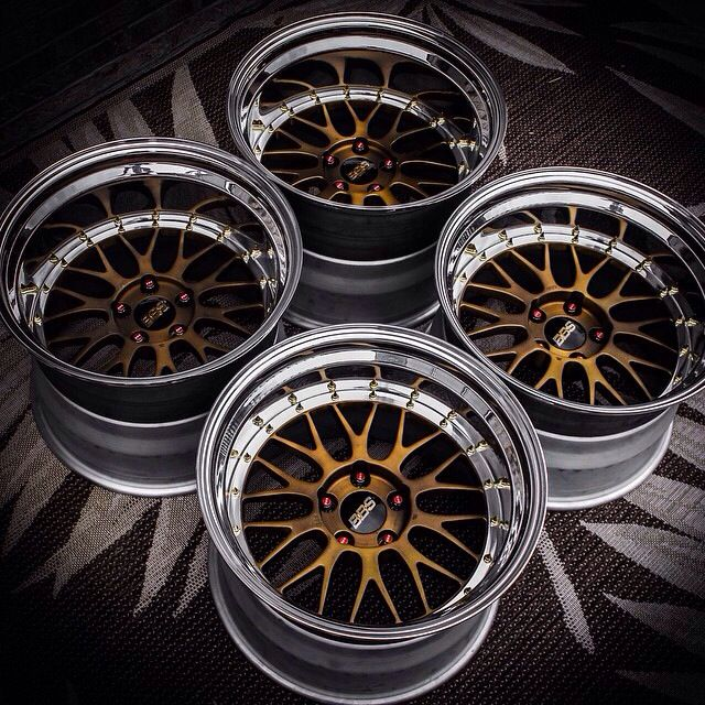 BBS LM's converted into deep dish 3-piece