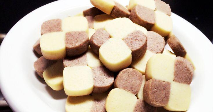 HMで簡単アイスボックスクッキー by ちるもん [クックパッド] 簡単おいしいみんなのレシピが254万品