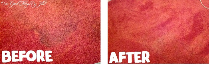 Homemade Carpet Stain Remover…NO Scrubbing Needed! |