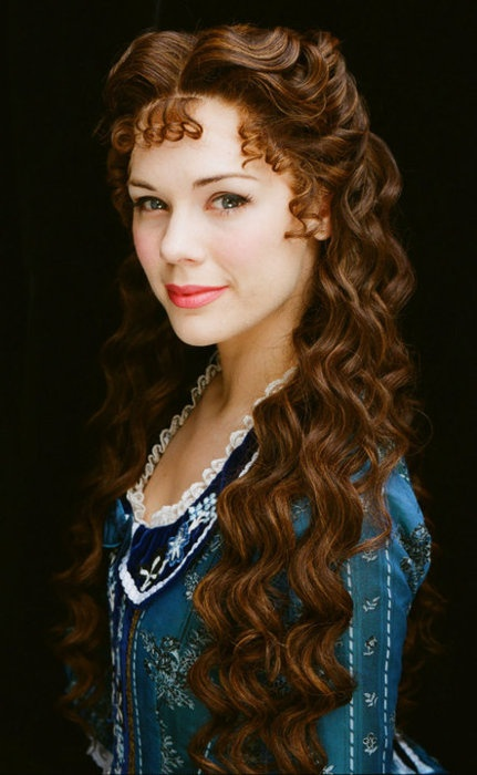 the beautiful Gina Beck as Christine Daae ❤: